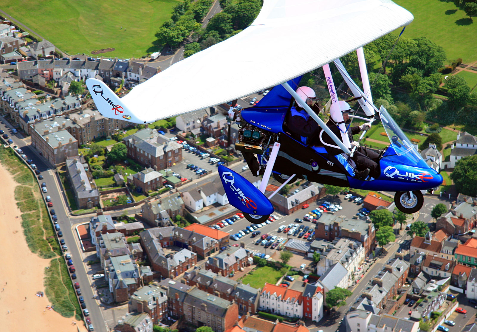 Air Experience flight over North Berwick